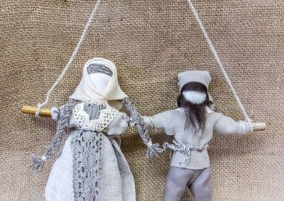 nierozłączki lalki motanki