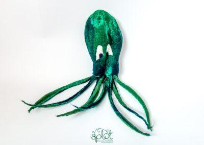 zabawka sakiewka ośmiornica zielona 2