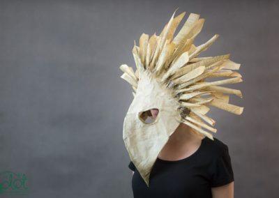 maska ptasia papier 1