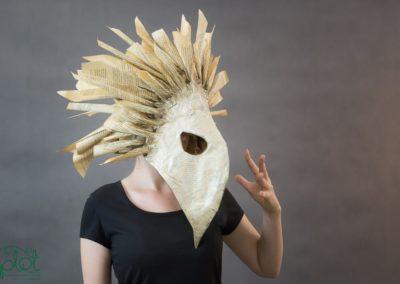 maska ptasia papier 3