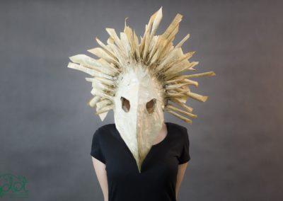 maska ptasia papier
