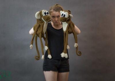 pacynki małpki 1