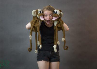 pacynki małpki 3