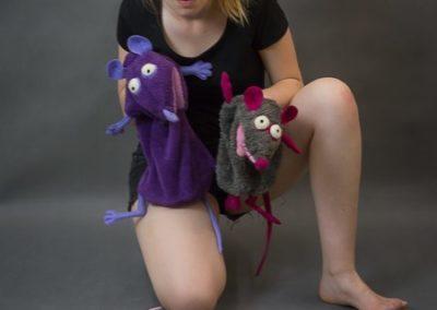 pacynki szczury 1