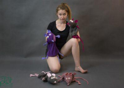pacynki szczury 3