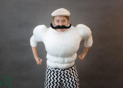 siłacz Arturro strój 1
